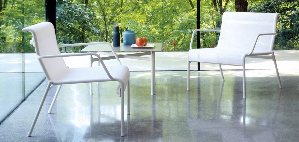 Mobili da giardino Emu: il verde di design