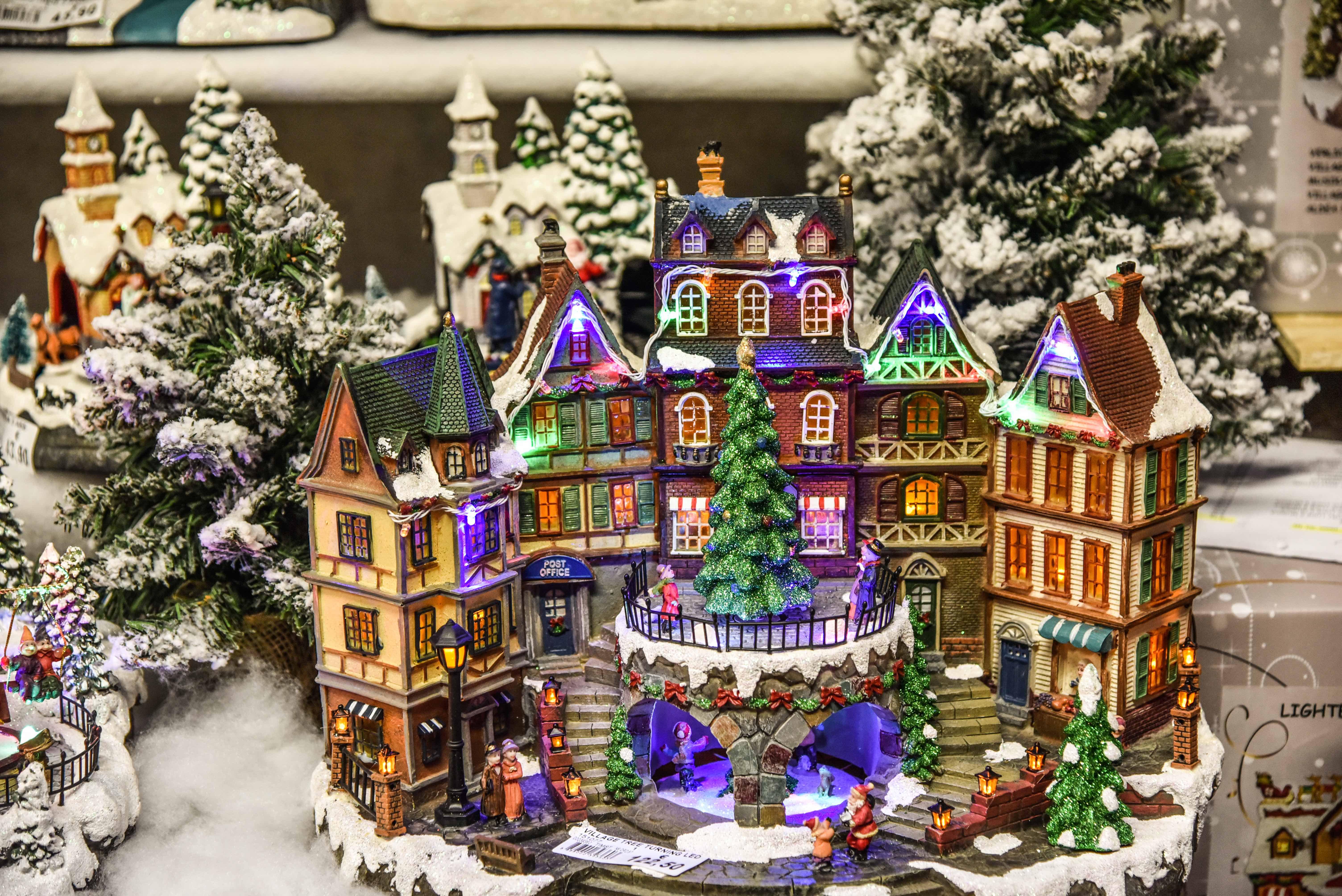 Villaggio Natale.Paesaggio Lemax Come Costruire Un Perfetto Villaggio Di Natale