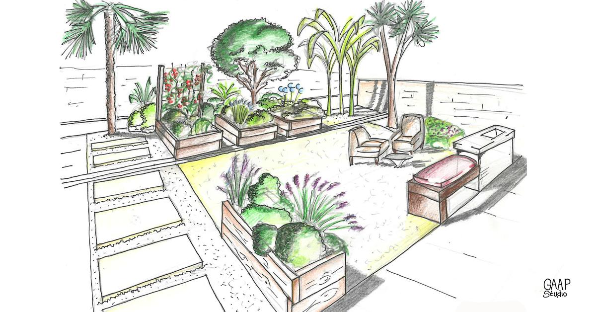 Progettare un giardino 6 regole d oro per giardini da sogno for Come progettare mobili
