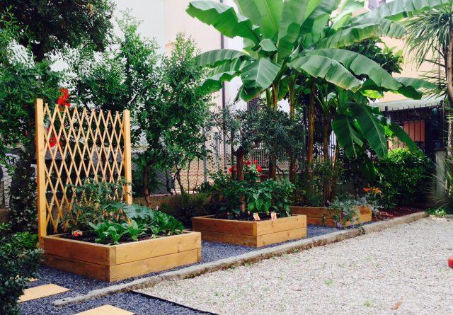 come realizzare un giardino -orto