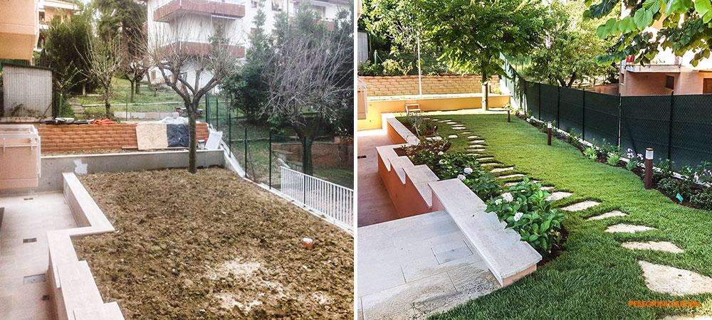 come realizzare un giardino feng shui - il verde