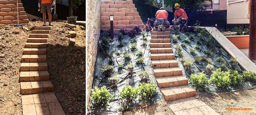 come realizzare un giardino feng shui - scala