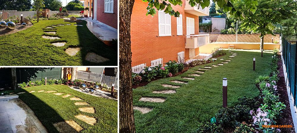 come realizzare un giardino feng shui - i percorsi