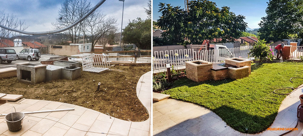 come realizzare un giardino feng shui - la fontana