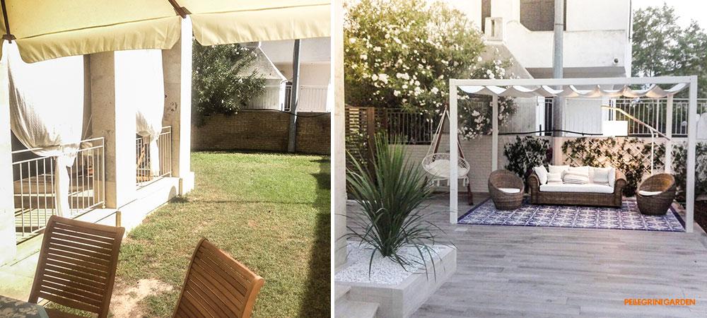 Come realizzare un giardino - zona relax
