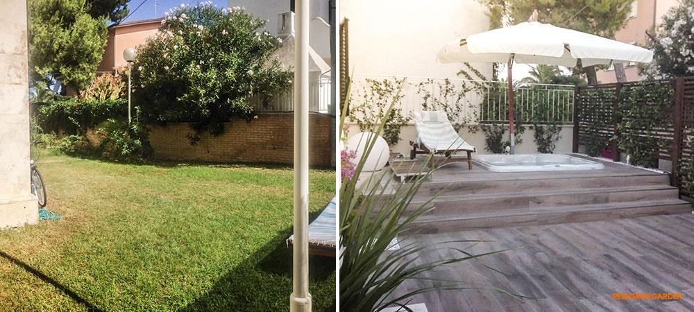 La casa in giardino realizzare un giardino funzionale - Organizzare il giardino ...