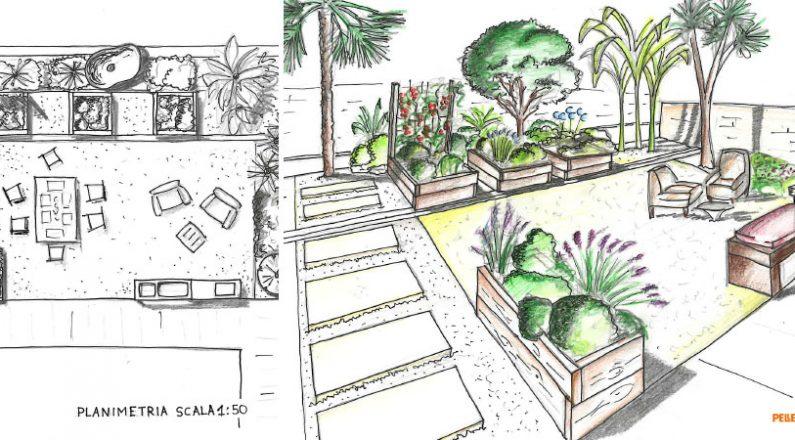 come realizzare un giardino - il progetto per un orto giardino