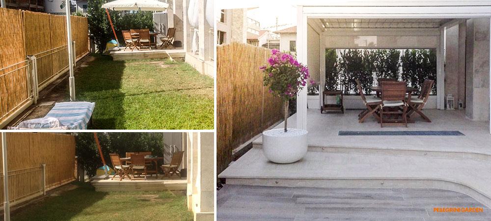 Come realizzare un giardino - zona living
