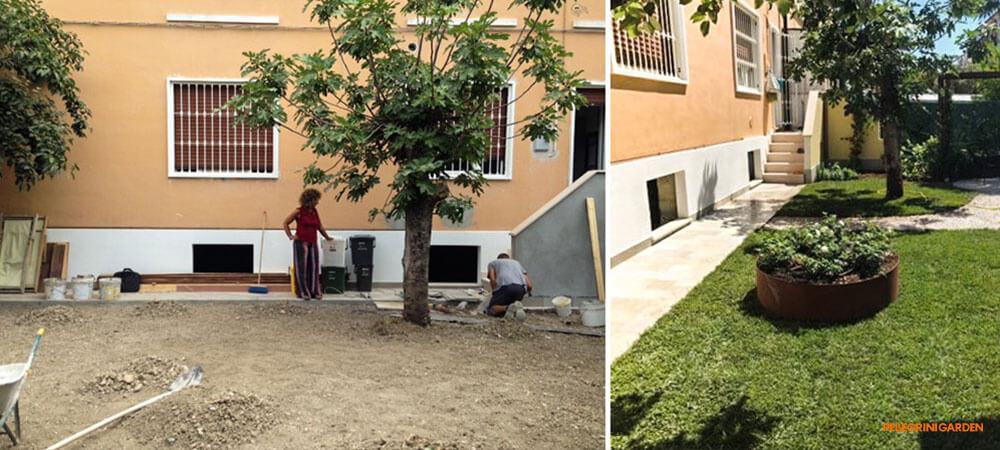 come realizzare un giardino - definizione degli spazi
