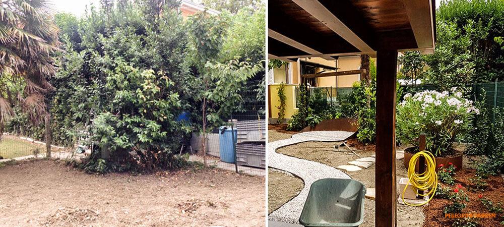 come realizzare un giardino - gli spazi funzionali