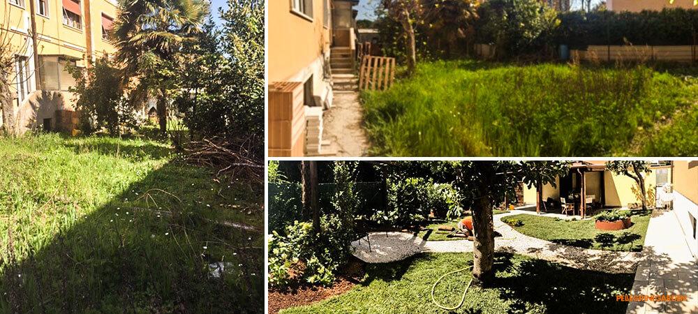 come realizzare un giardino - trasformazione degli spazi