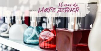 Il mondo Lampe Berger al Centro Giardinaggio Pellegrini