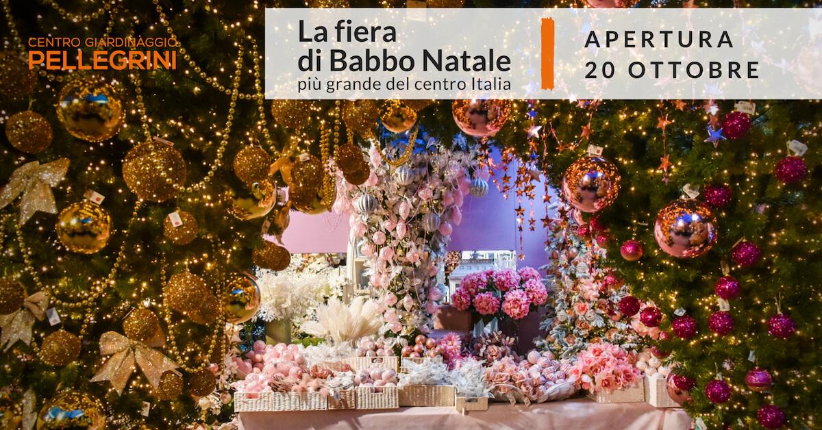 La fiera di babbo natale pi grande del centro italia dal - Fiera giardinaggio ...