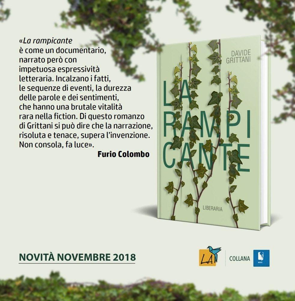 recensione libro La Rampicante FURIO COLOMBO
