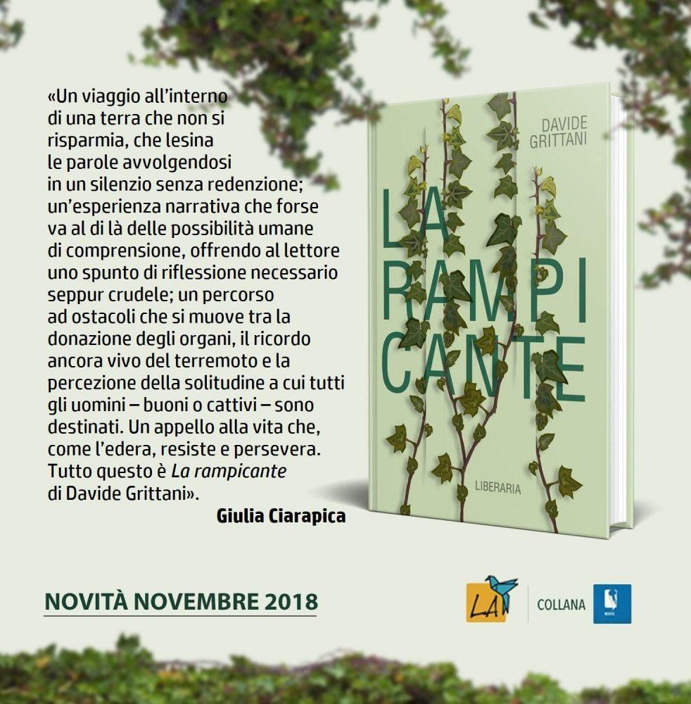 recensione libro La Rampicante at 17.01.22
