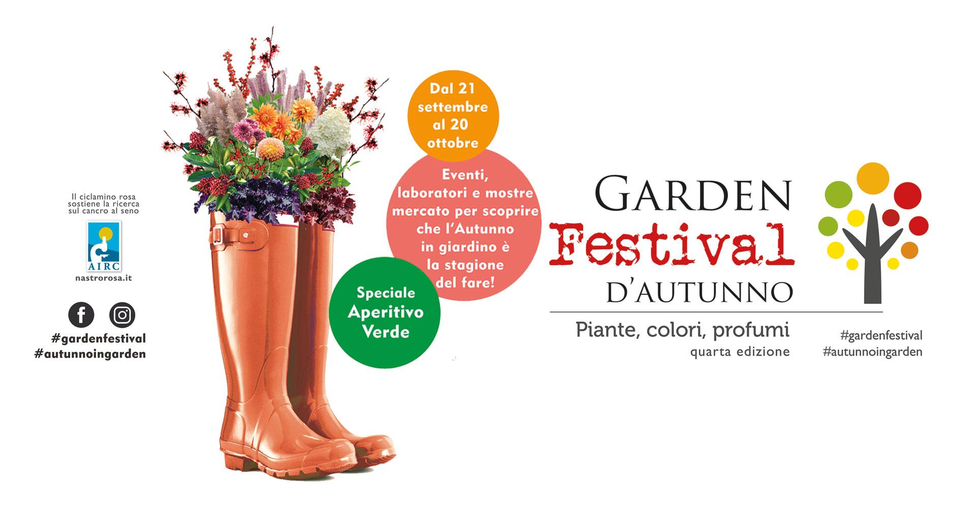 Garden Festival d'autunno Centro giardinaggio pellegrini