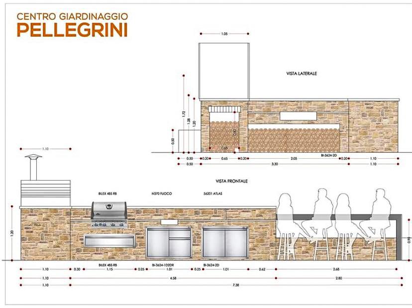 cucina-da-esterno-Centro-Giardinaggio-Pellegrini-progetto